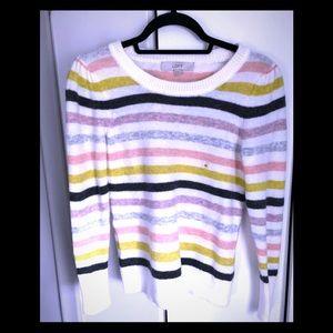 Loft fuzzy sweater